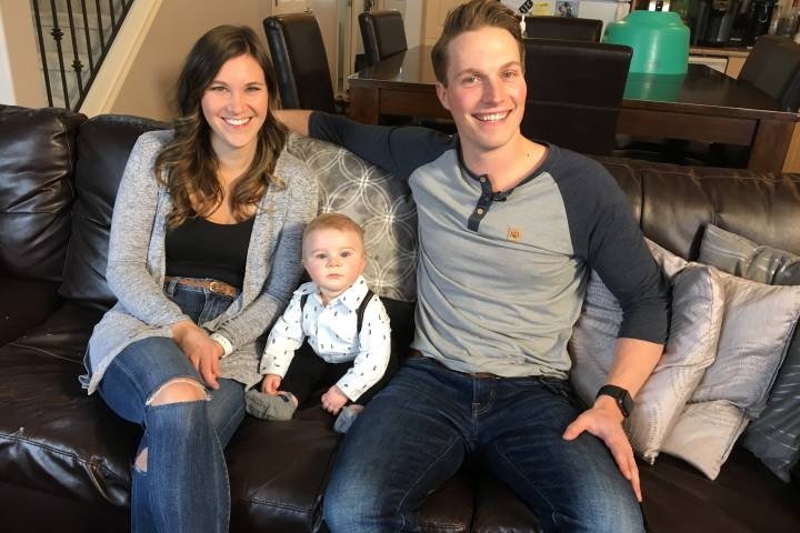 Photo of Alberta baby 'Mighty Hudson' home after gene therapy: 'he's cured'