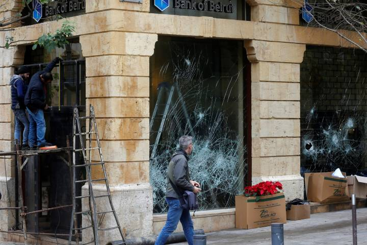 Photo of Lebanon vows to crack down on vandalism after week-long rioting in Beirut
