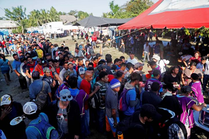 Photo of More than 2,000 camp in Guatemala as Mexico blocks migration path to U.S.
