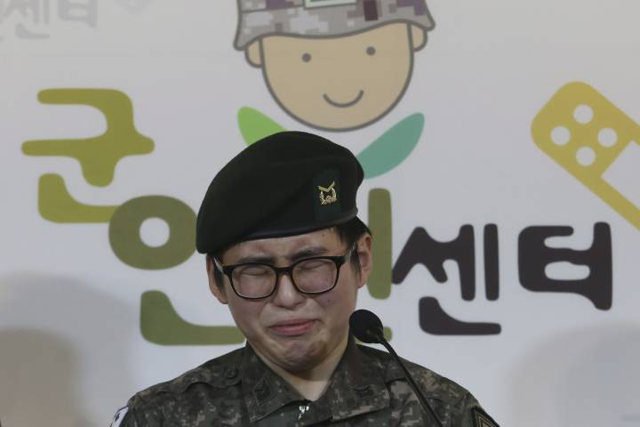 Photo of South Korean military discharges its first transgender soldier