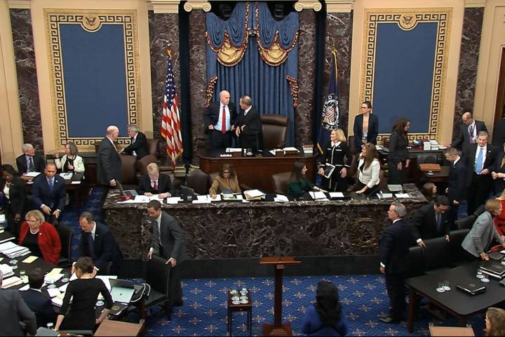 Photo of How long can U.S. senators sit still during Trump's impeachment trial? 20 minutes