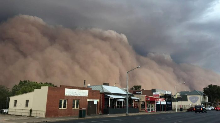 Photo of After fire, dust, hail take over Australia