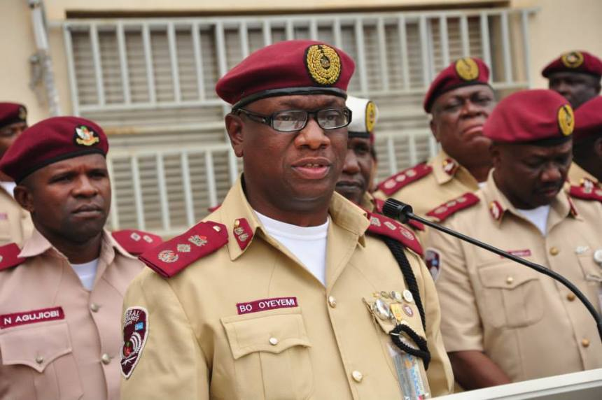 Photo of FRSC decorates 34 newly-promoted officers in Anambra