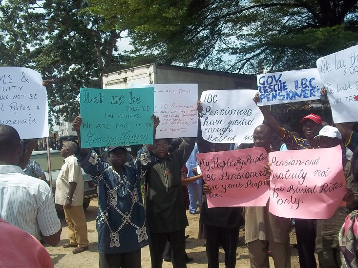 Photo of Abia Police arrest retirees for protesting pension non-payment