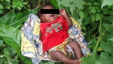 Photo of Woman rescues day-old baby in Niger