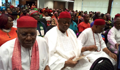 Photo of Northern, Southern leaders hold peace talk in Lagos