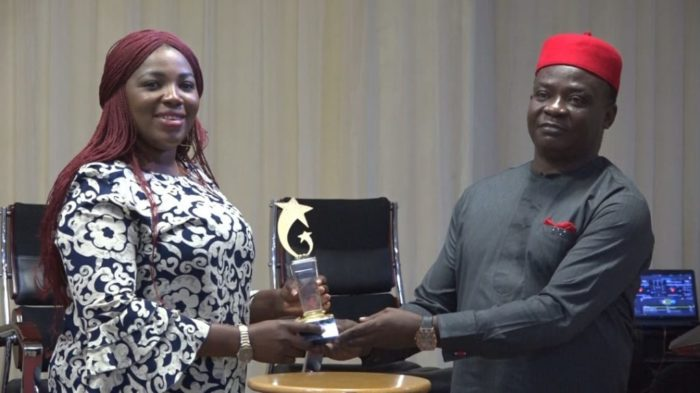 Photo of Omueza, NAN staff bags award for championing disability issues