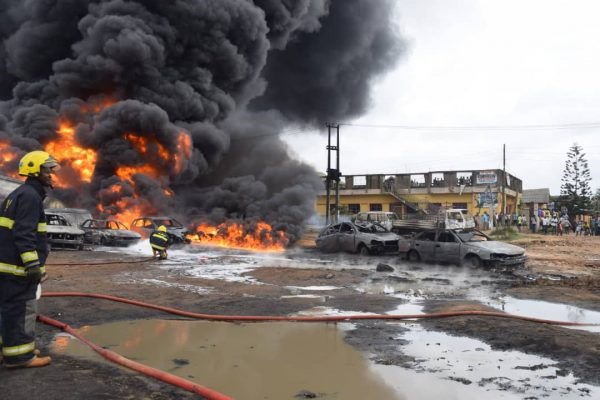 Photo of Lagos pipeline explosion: NEMA says 2 bodies recovered