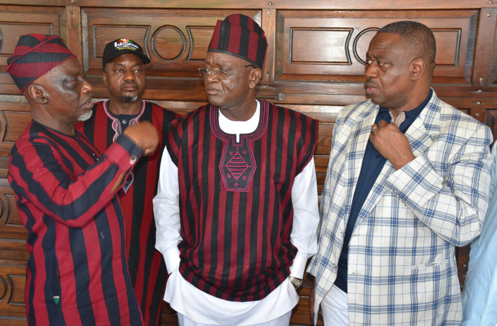 Photo of Stop politicising our tradition, Tiv youths tell Abba Moro, Suswan