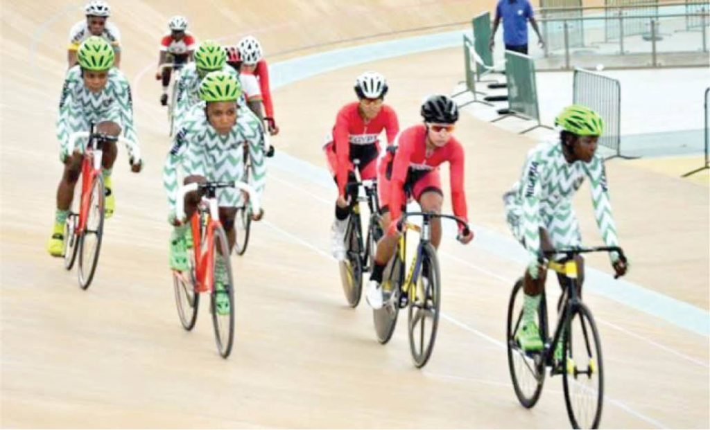 Photo of Team Nigeria win 1 gold, 1 silver, 1 bronze medal at African Track Championship