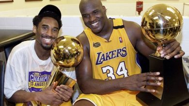 Photo of 'I'm sick right now:' Shaq posts heartbreaking tribute for Kobe Bryant