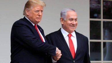 Photo of Donald Trump meets Benjamin Netanyahu, Benny Gantz at White House for deal
