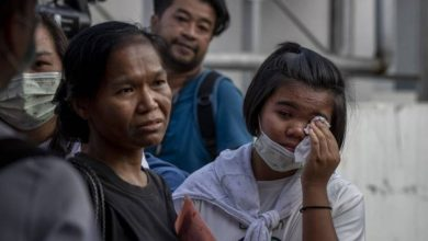 Photo of Families wait for remains of victims, answers after Thai mall shooting