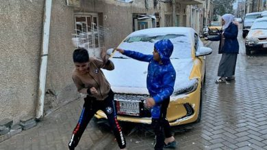 Photo of Baghdad wakes up to snow for first time in more than a decade
