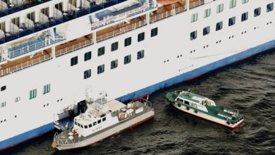 Photo of Japanese cruise ship quarantined as coronavirus death toll rises