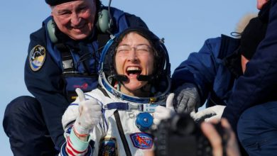Photo of Christina Koch returns to Earth after record-breaking spaceflight