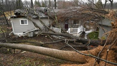 Photo of 5 dead as storm systems bring flooding, snow to U.S.