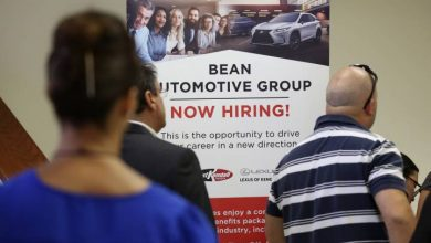 Photo of Number of U.S. jobs drops 5.4%, cuts recorded for 2nd straight month