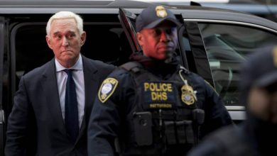 Photo of Roger Stone to be sentenced in case that's led to revolt inside Justice Department