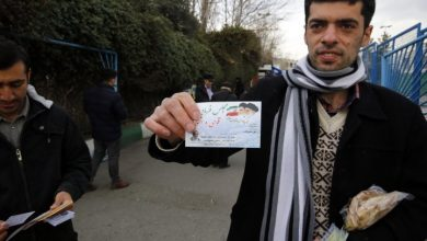 Photo of Iran's hardliners take early lead in parliamentary elections, 1st partial results show
