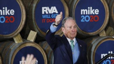 Photo of Democratic presidential candidates accuse Bloomberg of buying his way into election