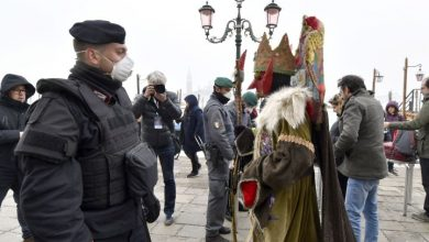 Photo of Venice Carnival cancelled in Italy in a bid to stop spread of COVID-19