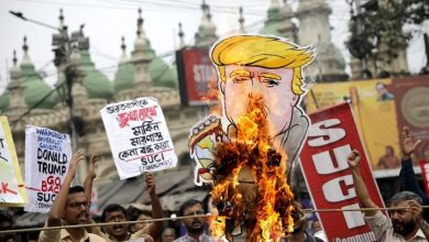 Photo of Donald Trump's visit to India prompts both protests and prayers