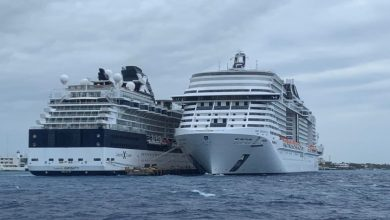 Photo of Cruise ship turned away twice docks in Cozumel, Mexico after coronavirus scare