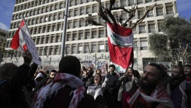 Photo of Hundreds march in Lebanon's capital to reject new government