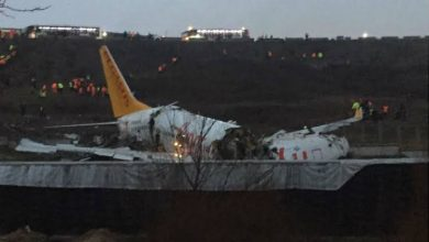 Photo of 52 injured, no fatalities after plane skids off runway in Istanbul