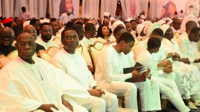 Photo of Obasanjo, others call for unity among Nigerians as FEPSAN boss Etuh buries wife