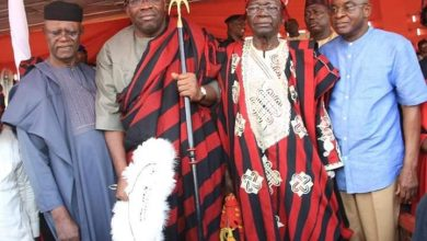 Photo of Gov. Dickson bags Idoma traditional title