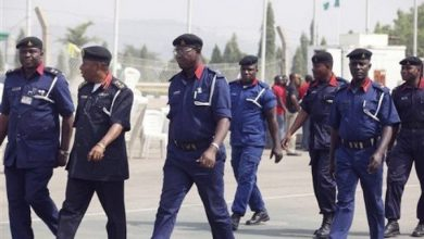 Photo of 4 NSCDC officers kidnapped in Kogi