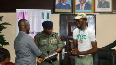 Photo of NYSC boss urges youths to harness potentials for country's development