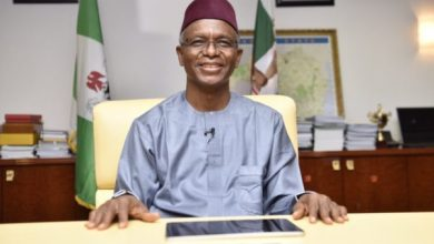 Photo of Okowa felicitates with el-Rufai at 60