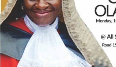 Photo of Justice Olayinka bows out of Lagos State Judiciary