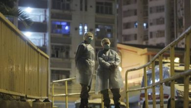 Photo of Coronavirus sickens residents on different floors of Hong Kong apartment