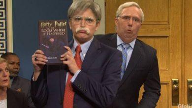 Photo of 'SNL' parodies a Trump impeachment trial that had John Bolton testify