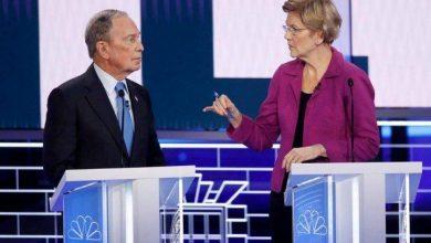 Photo of Democratic candidates take shots at Bloomberg during Nevada debate