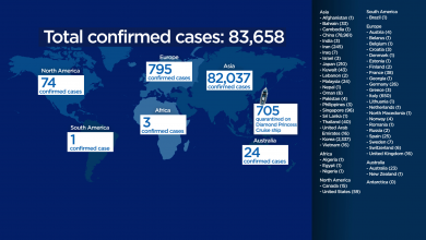 Photo of Mapping out the coronavirus: Here's which countries have reported cases so far