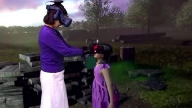 Photo of South Korean mom has tearful VR 'reunion' with dead daughter