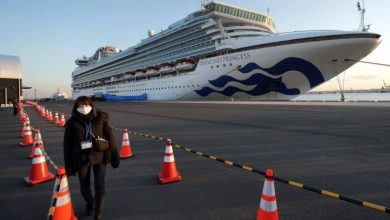 Photo of 39 new cases of COVID-19 confirmed on Japanese cruise shop: officials