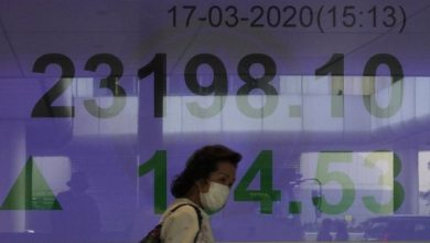 Photo of Coronavirus: Global shares rebound after Wall Street dive, recession warning