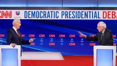 Photo of During Democratic debate, Biden and Sanders call for increased coronavirus testing