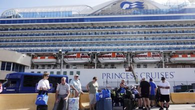 Photo of Coronavirus: Carribean Princess cruise ship held at sea as crew tested for COVID-19