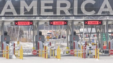 Photo of Canada-U.S. land border closes to all non-essential travel