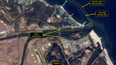 Photo of Satellite images show train likely belonging to Kim Jong Un at North Korean compound