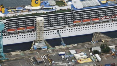 Photo of 148 coronavirus cases confirmed on cruise ship docked in Japan: official