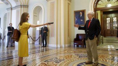 Photo of Pelosi calls U.S. senators vote to block new coronavirus aid a 'stunt'