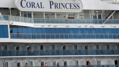 Photo of Coronavirus: Canadians say they're leaving Coral Princess cruise ship docked in Florida